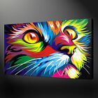 CANVAS PRINT PICTURE WALL ART ANIMALS COLLECTION POP ART FREE FAST DELIVERY