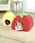 Fruit Themed Pet Beds Cat Dog Sleeping Bed Novelty Strawberry Pineapple House