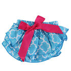 Cute Baby Girls Layer Ruffle Bloomers Diaper Cover Bottom Wrap Infant Clothes LJ