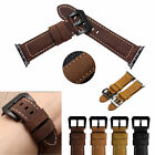 Genuine Leather/Nylon Watch Bands Wrist Strap For Apple Watch Series 1 2 38 42mm