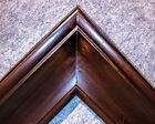 """5"""" fancy Walnut Brown Oil Painting Wood Picture Frame 40W"""