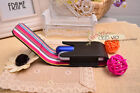 Carry 2 Leather Case for 2 Classic Refill Perfume Travel Atomizer Spray AIRSAFE