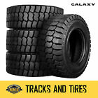 10-16.5 (10x16.5) Galaxy Trac Star 10-Ply Skid Steer Tires: Pick Your Rim Color