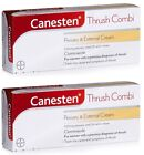 Canesten Thrush Combi Treatment Pessary & 2% Clotrimazole Cream 1 or 2 Packs