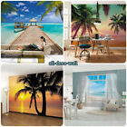 LUXURY Wall Mural Photo Wallpaper TROPICAL BEACH THEME Made in Germany! 368x254