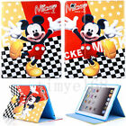 "For iPad 2 3 4 Air Mini Pro 9.7""10.5"" 2017 Minion Kids Leather Stand Wallet Case"