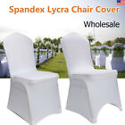 Wholesale 50-200Pcs Polyester Banquet Chair Covers Wedding Reception Party Decor