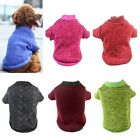 Warm Small Puppy Cat Sweater Pet Dog Jacket Clothes Clothing Coat Apparel XS-XXL