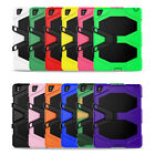 """Shockproof Hybrid Armor Protective Stand Hard Case For Ipad 9.7"""" 2017/mini/2 3 4"""