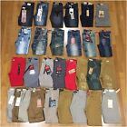 New Boys Size 10 Fashion Denim Moto Biker Paint Acid Wash Kid Jeans Pants Jogger