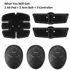 Muscle Training Gear Body Fit Electrical Muscle Stimulation With Toning Belt