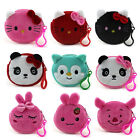 Внешний вид - Cartoon Aminal Children Plush Coin Purse Mini Women Portable Change Wallet Bags