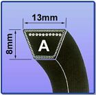 A SECTION V BELT SIZES A16 - A46 V BELT 13MM X 8MM VEE BELT
