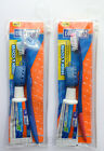 Dr. Fresh Travel Kit - Toothbrush + Cover + Toothpaste + Bag - Choose Colour
