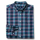 GANT Shirt Long Sleeve Broadcloth Check - Indigo