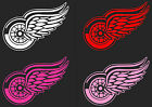 "HUGE 31"" Detroit Red Wings Car Truck Window Decal RED WHITE PINKS sticker hockey"