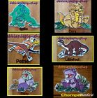 The Land Before Time Patches - Littlefoot, Ducky, Petrie, Spike, Cera & Chomper