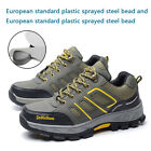 f702adf2bf0 Men s Safety Shoes Construction Breathable Working Steel Toe