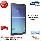 New Samsung Galaxy Tab E 9.6 Inch SM T560 8GB Wi-Fi Android Tablet Black White