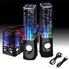 Kyпить Black & White Stereo Music LED Water Dancing Fountain Light Speakers HOT SALE!!  на еВаy.соm