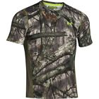 mens S Under Armour ColdGear Scent Control t-shirt mossy oak treestand 1259146