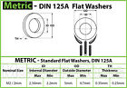 Stainless Steel Flat Washer DIN 125A  M2 M2.5 M3 M4 M5 M6 M8 M10 M12 M14 M16 M20 photo
