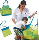 Beach Bag Mesh Towels Children Kid's Toys Outdoor Sand Away Dredging Pouch Pool