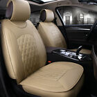 Universal 5-seats Car Interior Seat Covers Chair Cushion 3 Colors PU Leather UDW