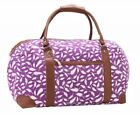 Womens Canvas Weekend Overnight Bags Ladies Maternity Bag Travel Gym Holdall