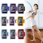 Sports Running Jogging Gym Armband Case Cover Holder for iphone 6 note 3 5.5""