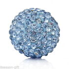 Wholesale Blue Mexican Rhinestone Box Harmony Angel Beads Caller Music Ball 16mm