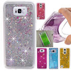 Shockproof Bling Liquid Glitter Transparent Quicksand Soft Case Cover For Phones