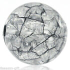 """Wholesale Acrylic Crackle Round Ball Spacer Beads Black 12mm( 4/8"""")Dia."""