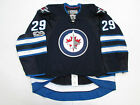 LAINE WINNIPEG JETS AUTHENTIC HOME 100th ANNIVERSARY REEBOK EDGE 2.0 7287 JERSEY