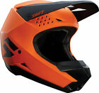 Shift Racing Adult Matte Orange Black White Label Dirt Bike Helmet ATV MX 2018
