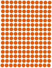 Dot Stickers ~1/4 Inch 8mm Circular Small Round Color Coding Labels 900 Pack  фото