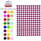 Dot Stickers ~1/4 Inch 8 mm Circular Small Round Color Coding Labels 900 Pack