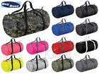 'Bagbase Barrel Bag Holdall Duffle Foldable Bag Holiday Sports Gym Handheld Bag