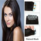Natural Black Large Stock Top Quality Virgin Hair 100% Remy Human Tape-In Hair