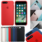 Luxury Original Silicone Cover Ultra-Thin Phone Case For Apple iPhone 7/7 Plus