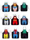 ladies aprons - Marvel DC Comic Superhero Aprons Kitchen Dining Funny Woman Man Cooking Wonder