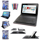 3in1 Removable Bluetooth Keyboard PU Leather Butterfly Case for 7