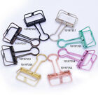 tibetara Simple Binder Clip Journalling clips paper clips 95*50*20mm 6pcs