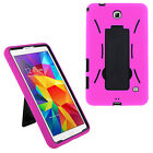 Shockproof Hybrid Case Cover For Samsung Galaxy Tab 4 7.0 Nook T230 T237 T237NU