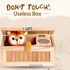 Leave Me Alone Useless Box Electric Machine Don't Touch TigerMagic Wood Toys USB