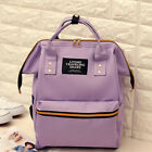 Fashion Mummy Diaper Backpack Large Capacity Maternity Nappy Baby Canvas Bag