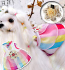 Pet Clothes Knot Hanbok Apparel Embroider Dog Puppy Traditional Korean Costume