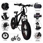 20 Inch 250-300W 6 Speed Electric Bicycle Cruiser E-Bike 36V10A Lithium Battery