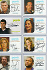 Psych -  Autograph & Wardrobe Costume Relic Card Selection NM Cryptozoic