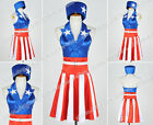 captain america the avengers suit - The Avengers Captain America Cosplay Costume Suit Dress Female Version Popular